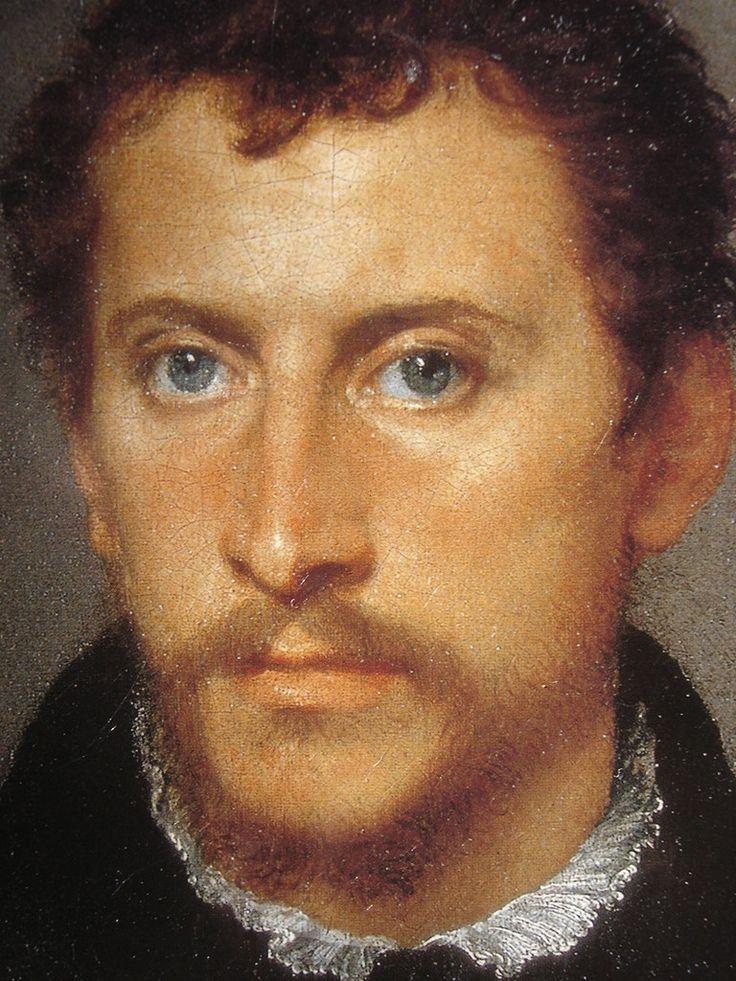 Тициан - Портрет неизвестния със сини очи 1538 ? (Флоренция, Галерия Палатина, Палаццо Питти)