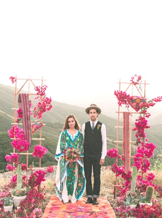Spanish Wedding Inspiration   South American inspired ceremony: For Bridal Shower