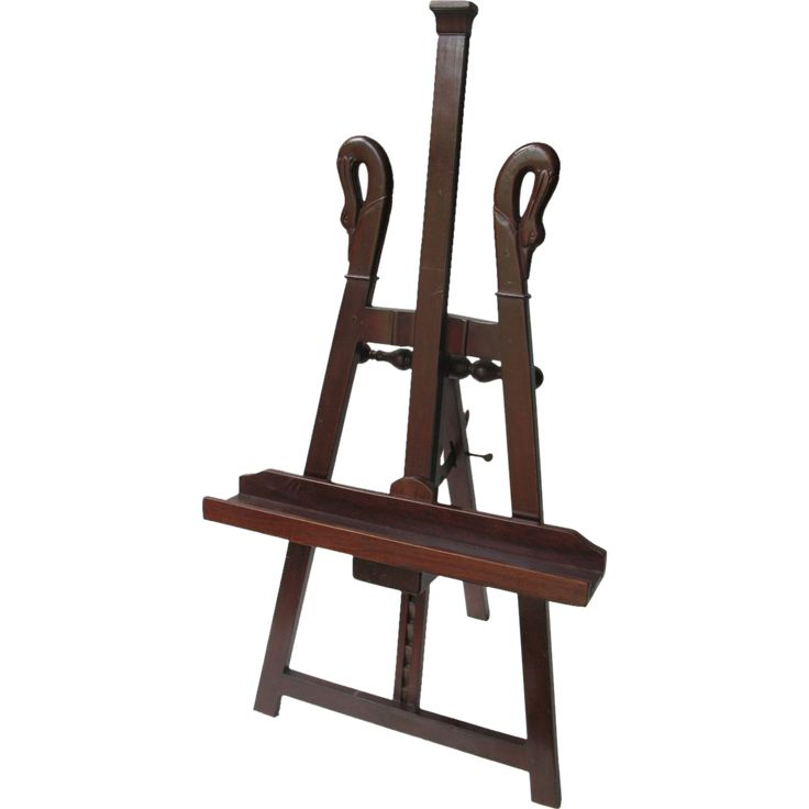 Antique French Georgian Mahogany Table Easel Early 19th Century Napoleonic era - Antique French Georgian Mahogany Table Easel Early 19th Century Napoleonic era