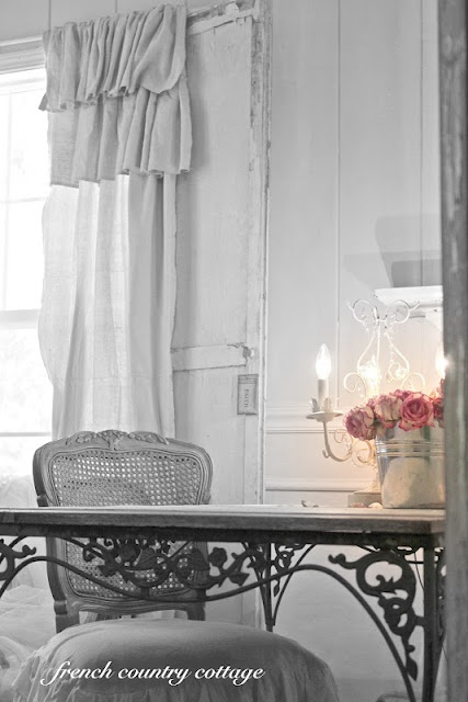17 Best images about ruffled curtains on Pinterest   Shabby chic ...