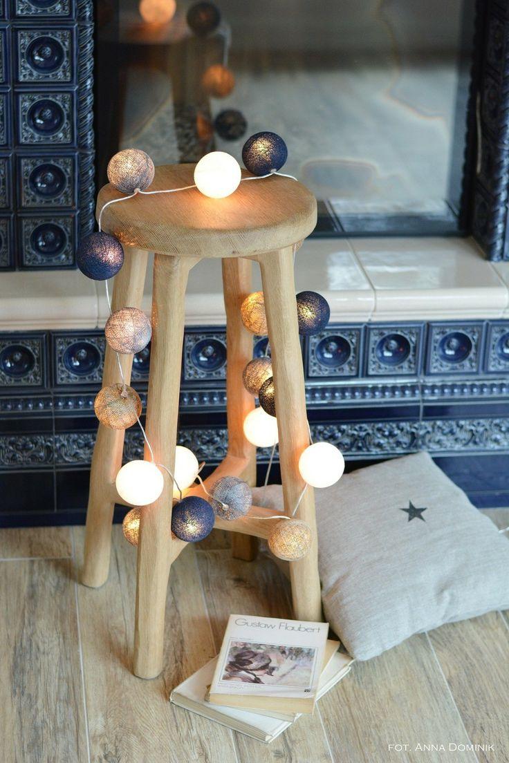 Cotton Ball Lights : Angels lights 35 kul Angels 35   POMYSŁ NA PREZENT DODATKI \ Dekoracje świetlne DLA DZIECKA OŚWIETLENIE \ dekoracyjne  ...