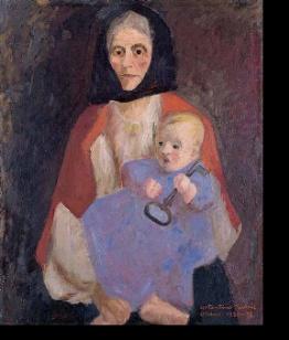 Ritratto di Mia Madre, Costantino Nivola 1930-31