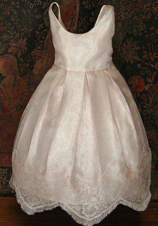 1b1ee185e84 Isabel Garretón Chantilly Flower Girl Dress - The Knot