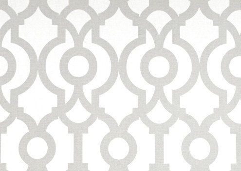 French Grey Lyon Geometric Curtains. Window Drapes. All Sizes. Modern Curtains. Drapery. Light Gray