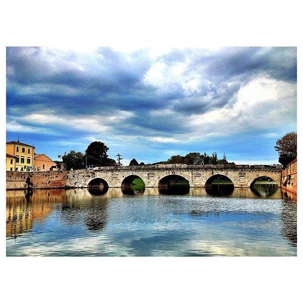 Tiberius Bridge, Rimini - Instagram by @fabio33