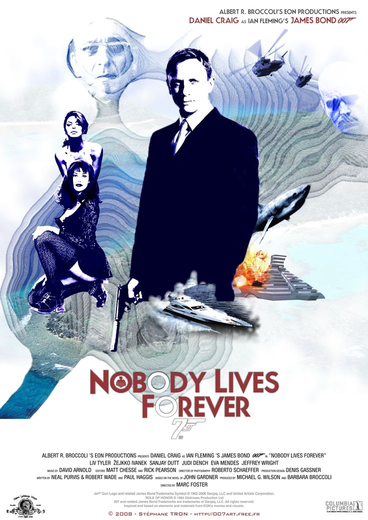 John Gardner - 'Nobody Lives Forever' - Poster 1