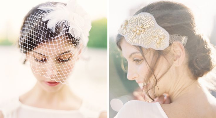 Hushed Commotion veil and bridal hair accessories: Hair Adorn, Hair Pieces, Bridal Hairstyles, Headpieces, Bridal Hair Accessories