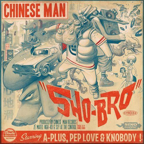 """Retrouvez ici mon interview de Chinese Man pour la sortie de leur EP """"Sho-Bro"""" #Interview #ChineseMan #ShoBro"""