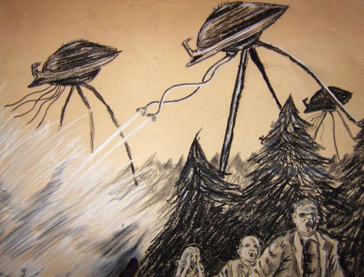 Martian tripod-machines
