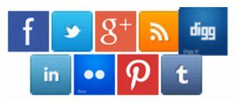 Metero Sitili Blogger Social Buttonlar