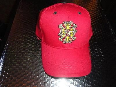 Fuente Opus X Red  Embroidered Logo Baseball Cap with Tag