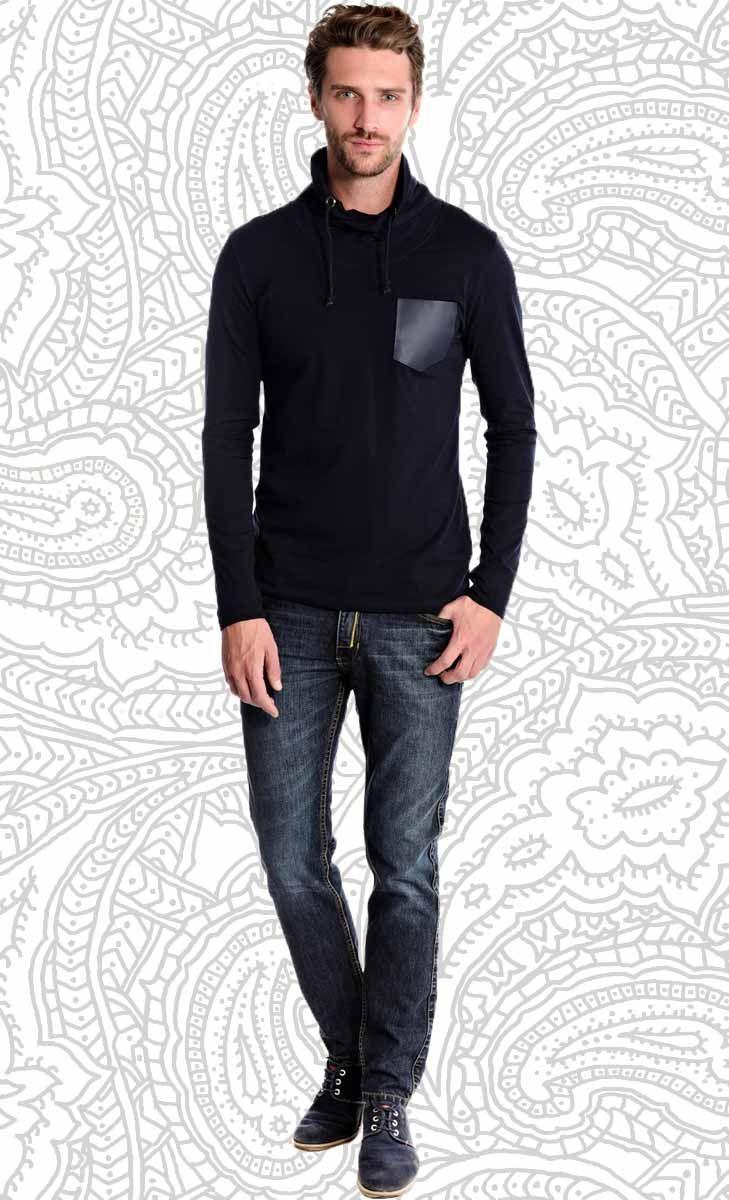 Mavango Sports Blue Round Neck Tee | Mavango Fashion eStore