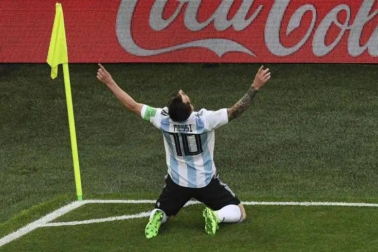 Messi S First Goal In World Cup 2018 And 100th In Argentine Jersey