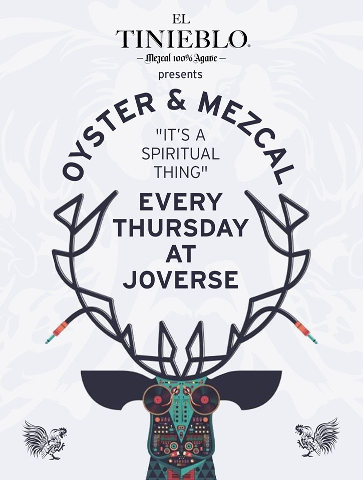 Joverse #Oyster & Mezcal Thursday | It's a spiritual thing