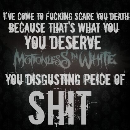 Fucking hypocrite lyrics