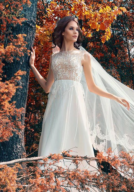 How to Choose a Wedding Dress For a Fall Wedding!