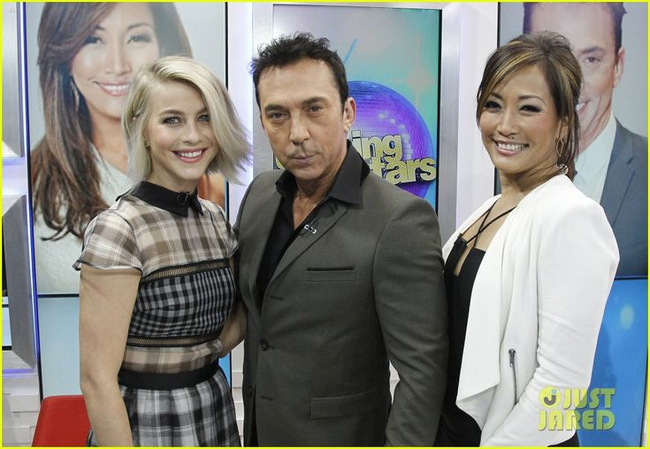Julianne Hough, Carrie Ann Inaba & Bruno Tonioli Talk 'DWTS' on 'GMA' | julianne hough gma dwts promo 12 - Photo