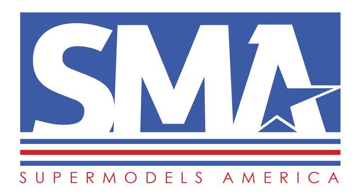 New logo for SuperModels America.  Fashion brand.  See more at: www.supermodelsamerica.com