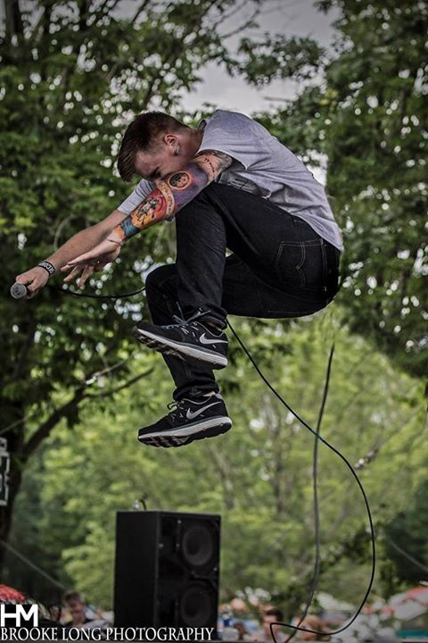 Wolves At The Gates at Alive Festival // Brooke Long Photography