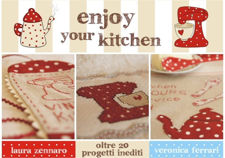 Country style  sewing book   enjoy your kitchen
