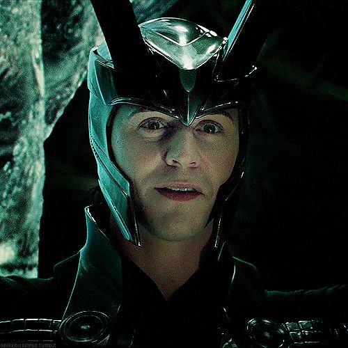 Pin for Later: 33 Reasons Tom Hiddleston Is the Best Part of The Avengers But it's a beautiful smile nonetheless.
