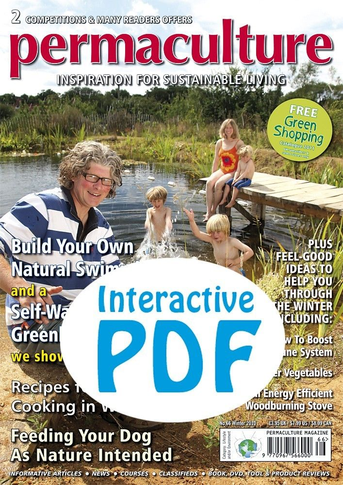 My story about Scott and Arina Pittman's place in New Mexico appears in this issue of Permaculture Magazine. The iss is offered as a free download!