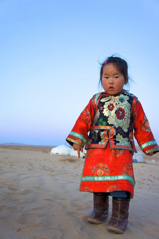 Girl of the Gobi . Mongolia