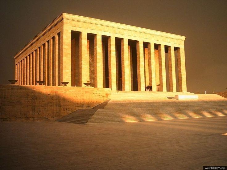 ANKARA - Anıtkabir --- The tomb of the founder of the Republic of Turkey, Mustafa Kemal Ataturk.