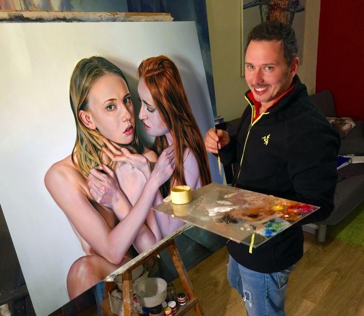 Lami: Ha egy festő úgy érzi, nem a szavak embere, akkor ezt fordítsuk le így: beszélnek helyettem a festményeim, többet...