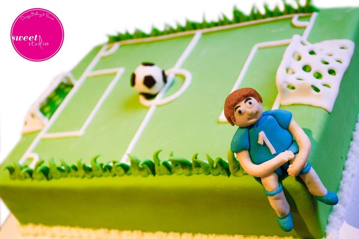 Football Soccer Cake.