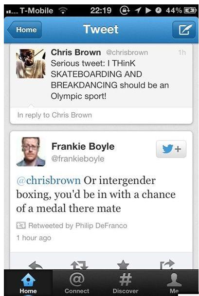 Haha frankie Boyle...