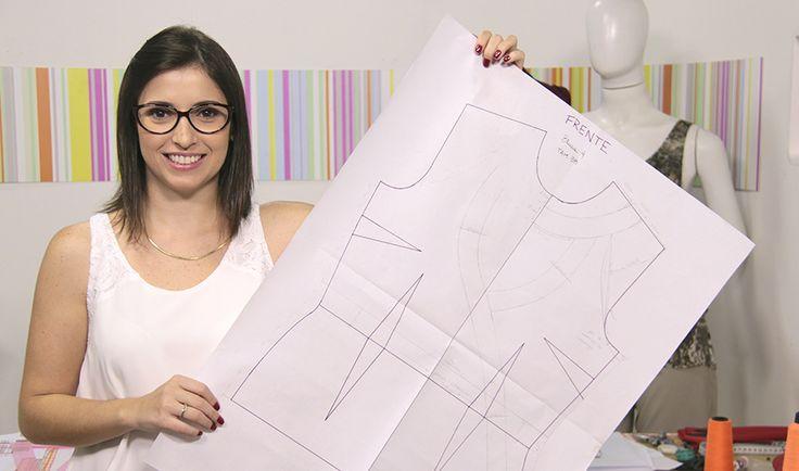 Aprenda com experts na eduK. Curso ao vivo Online de Modelagem plana de blusas