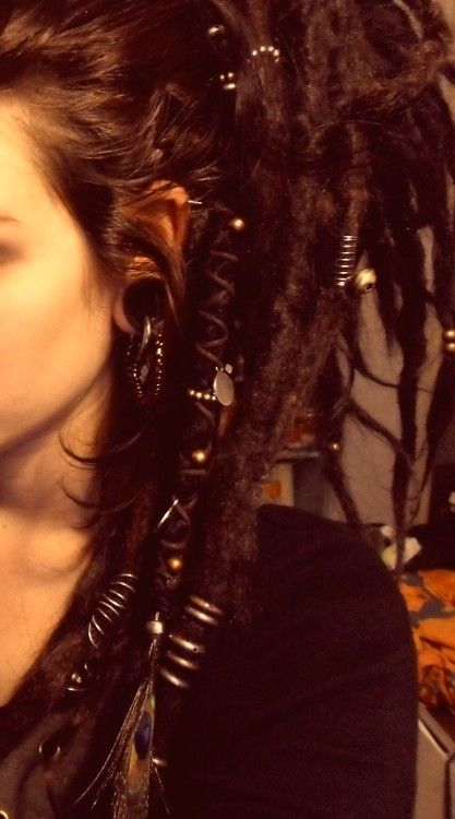 people look at me a little strangely when I tell them that I want to have dreds. :)