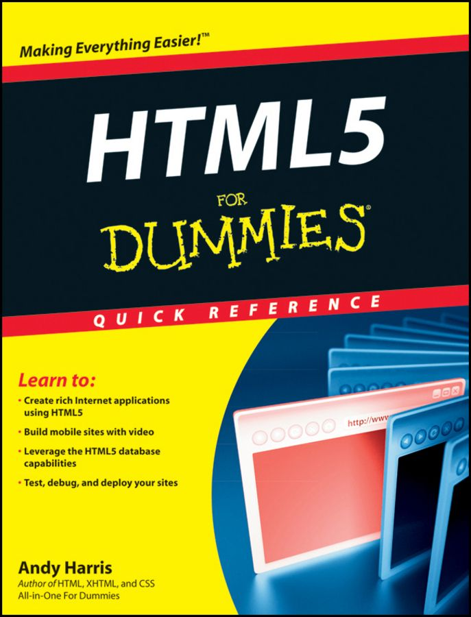 HTML5 For Dummies Quick Reference on Scribd