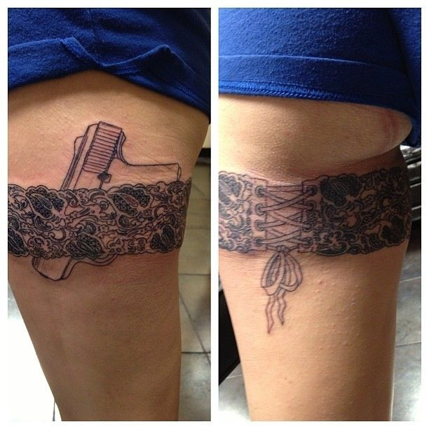 17 Best Ideas About Thigh Quote Tattoos On Pinterest: 17 Best Ideas About Lace Garter Tattoos On Pinterest