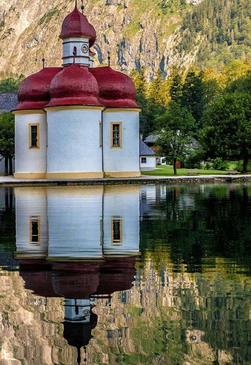 St. Bartholoma - Lake Konigssee, Germany