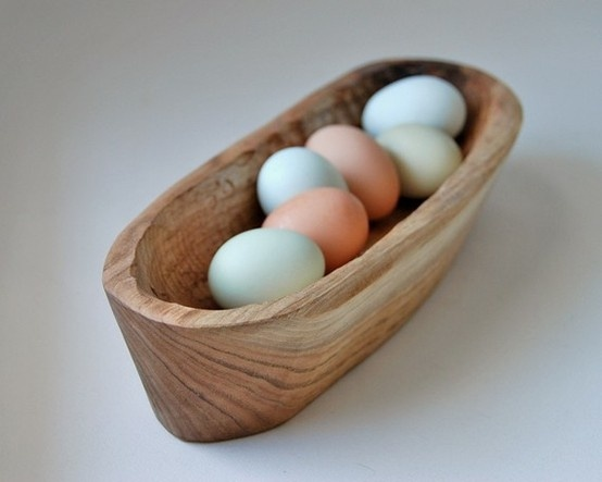 eggs +  wooden bowl: Wooden Bowls, Eggs, Bread Bowls, Wood Bowls, Kitchen, Grayworksdesign, Curio Bowl
