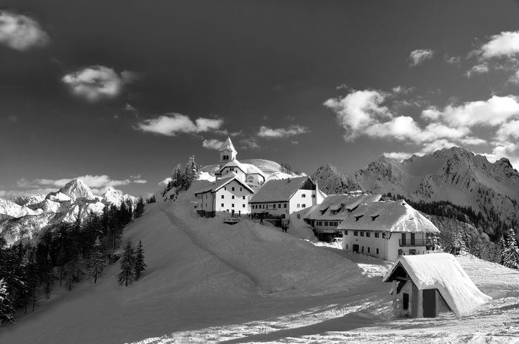 Monte Lussari  This border area is really different from the others: here culture, customs and habits and also traditions have been influenced by the bordering countries of Austria and Slovenia. Tarvisio has an indissoluble bond with skiing and during the course of time has been able to show increasing talent, also at professional level. Thanks to the high quality of its slopes it has hosted and still does today, numerous international sport events. This tourist resort is also much…