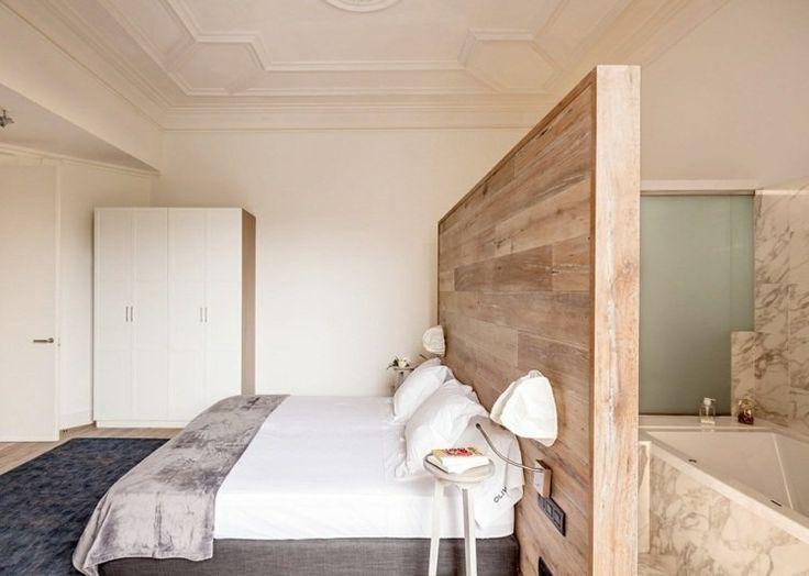 Les 25 meilleures id es concernant salle de bains attenante sur pinterest p - Paravent salle de bain ...