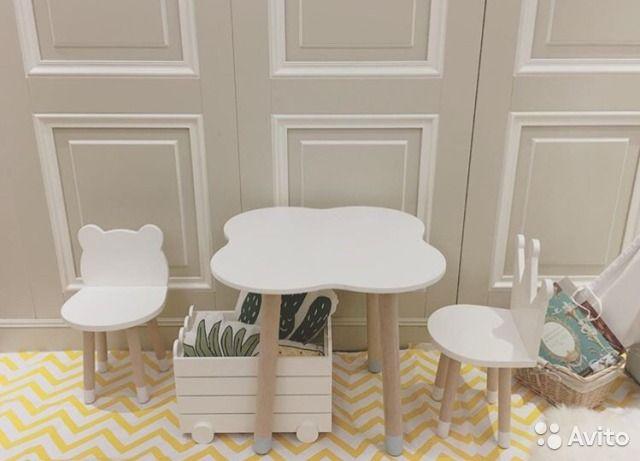 Детский стул и стол — фотография №2