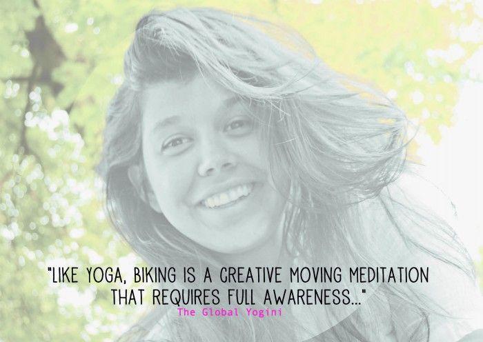Striking a Balance Between Yoga & Biking.