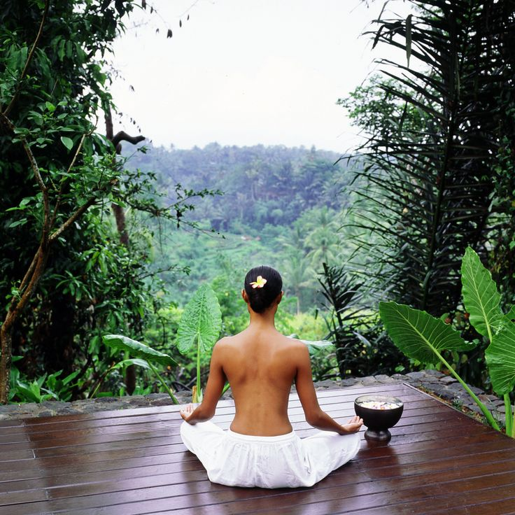 Yoga at Kayumanis Ubud