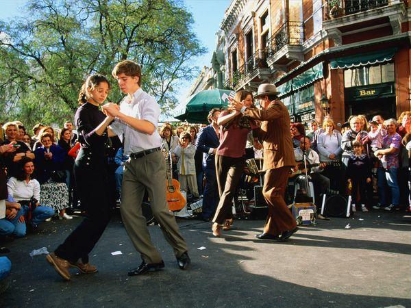 Buenos Aires, Argentina, tango in Caminito