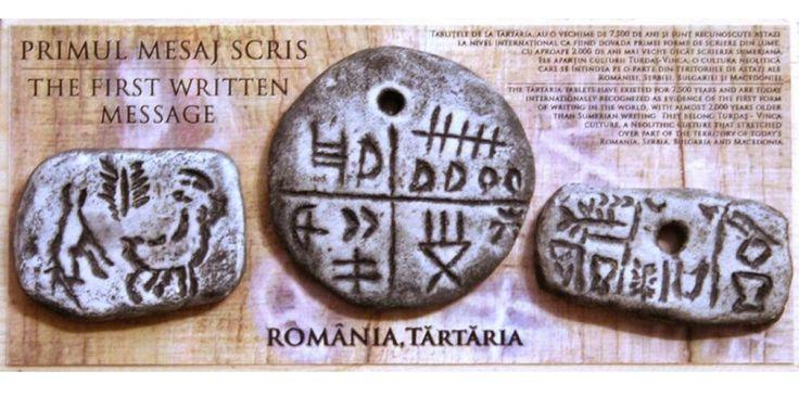 Tablitele de la Tartaria 5500 BC