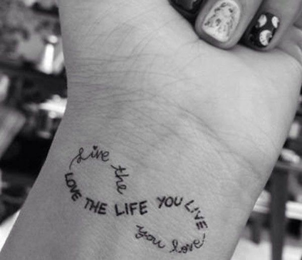 love this quote. don't need slink for tattoo's though ;) *Fifty-Small-Tattoo-Ideas-44.jpg 600×516 pixels