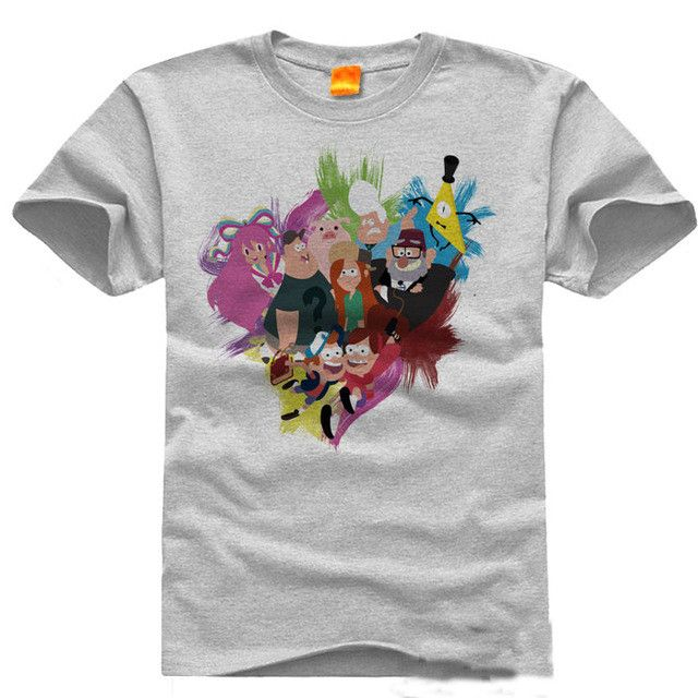 2017 New Gravity Falls T-shirt