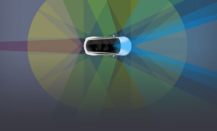 Autopilot 2.0 to 8 kamer i 12 czujników montowanych od teraz w każdym z produkowanych samochodów Tesla. Gotowośćna autonomicznośćw wykonaniu Tesli to cośpięknego!