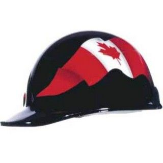 FIBRE-METAL Roughneck Graphic Hard Hat (Canadian Flag)