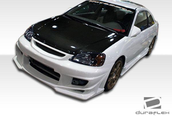 2001-2003 Honda Civic 4DR Duraflex Bomber Body Kit - 4 Piece