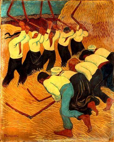 Paul Sérusier - les batteurs de blé